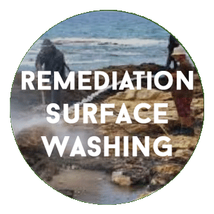 Remediation Surface Washing